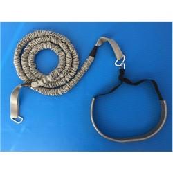 Cintura con elastico per corsa trattenuta
