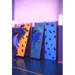 Pannello arrampicata agganciabile a spalliera