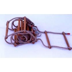 Scala di corda lunghezza mt. 5