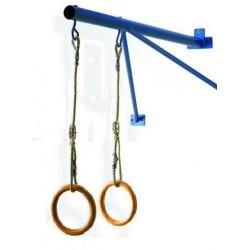 Mensola per sospensione anelli