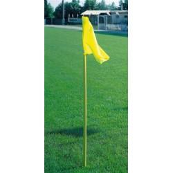 Pali calcio d' angolo fissi set da 4