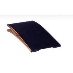 Pedana elastica tipo Reuther con piano in legno ricoperto in gomma