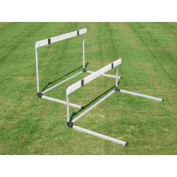 Ostacolo alluminio staggetta abs regolabile da 76,2 a 106,7 cm