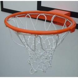 Canestro basket in acciaio con tondo pieno ultra resistente a norme UNI EN 1270