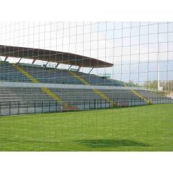 Rete recinzione campi sportivi maglia cm 14x14 realizzata su MISURA
