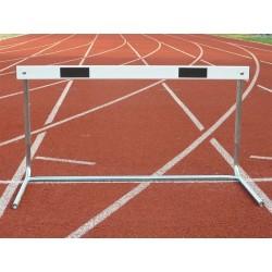 Ostacolo regolabile in acciaio verniciato altezza regolabile 50 - 60 - 76,2 cm.
