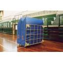 Materasso per salto in alto cm 200x400x50 con antiscivolo e taglio a 45°