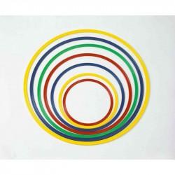 Cerchio in nylon colorato sezione piatta 80 cm