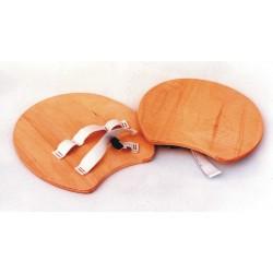 Palmare in legno con elastico