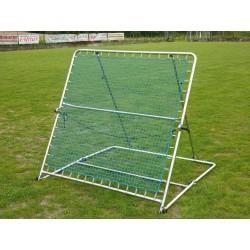 Telaio con rete ad inclinazione  per allenamento calcio