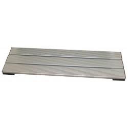 Pedana poggiapiedi mt. 1 in alluminio