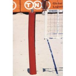 Impianto beach volley in acciaio zincato con periscopio