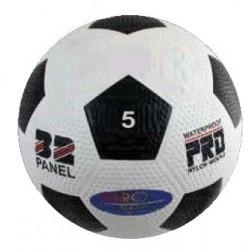 Pallone calcio in gomma bugnata
