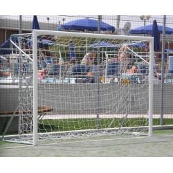 Porte da calcio mt. 4x2 in ACCIAIO trasportabili