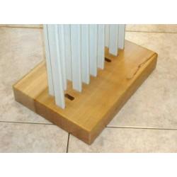 Porta palette a 18 posti in legno