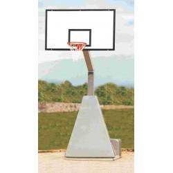 Impianto basket monotubo trasportabile Mod. COLLEGE