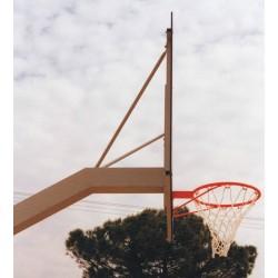 Impianto basket monotubo trasportabile DA ESTERNO