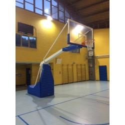 Impianto basket oleodinamico elettrico sbalzo 325cm