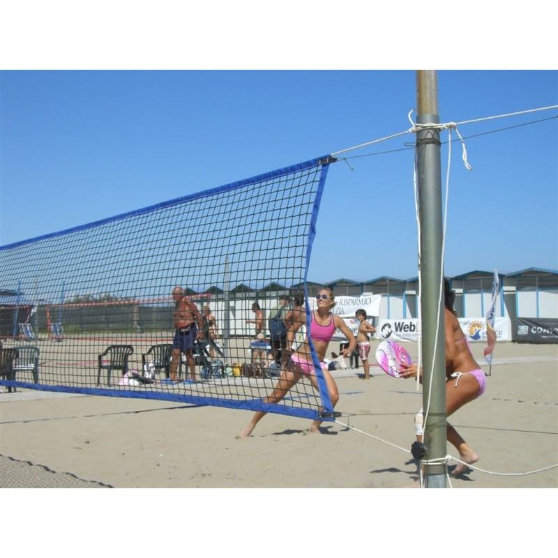 Rete doppio uso beach volley e beach tennis