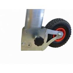 Ruote per spostamento porte da calcio trasportabili