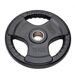 Disco Olimpionico Tri-Grip Diamond - 15 Kg