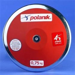Disco Allenamento in plastica Polanik - Kg 0,75