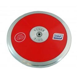 Disco Competizione Hi-Spin IAAF Vinex - Kg 1