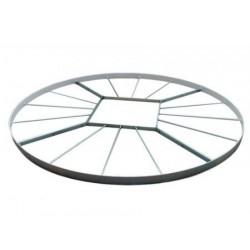 Cerchio pedana lancio del peso Polanik omologato IAAF