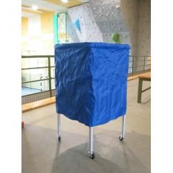 Carrello porta palloni in acciaio  con sacca chiusura ad ombrello