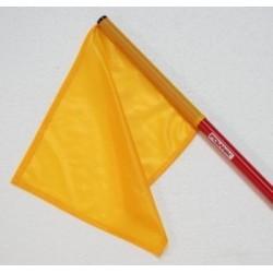 Bandierina per giudici colore giallo Polanik