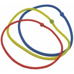 Elastico tubolare rosso ad anello
