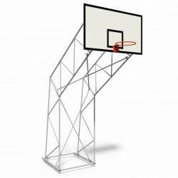 Impianto basket traliccio fisso da interno sbalzo 225