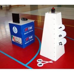 Sistema segnalazione time-out con sirena