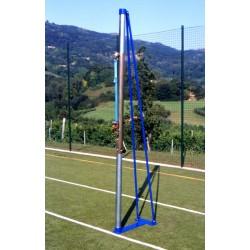 Impianto pallavolo a traliccio in acciaio mod. Torneo