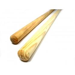 Bastone ginnastica in legno cm 70 - cm 80 - cm 90