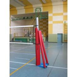 Protezioni pallavolo impianto a traliccio in alluminio