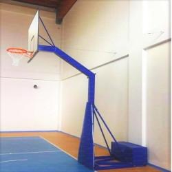 Impianto basket monotubo trasportabile DA INTERNO