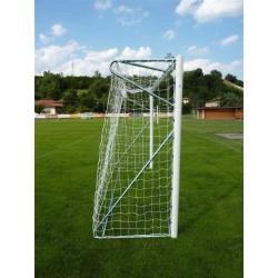 Porte da calcio ridotte 5x2 mobili traversa divisa