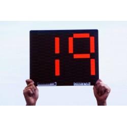 Segnalatore cambio giocatori bifacciale 2 cifre
