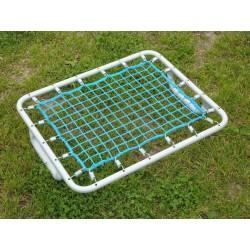 Telaio calcio con rete manuale con impugnature