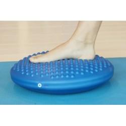 Disco propriocettivo in gomma gonfiabile diametro 39 cm