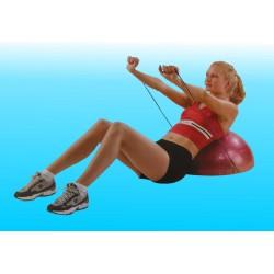 Semisfera di equilibrio con elastici