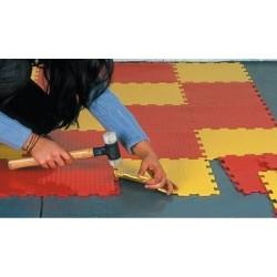 Pavimento auto-posante Puzzle Floor 1 mq