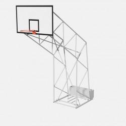 Impianto basket traliccio trasportabile da interno