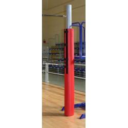 Protezioni impianto pallavolo da competizione monotubo