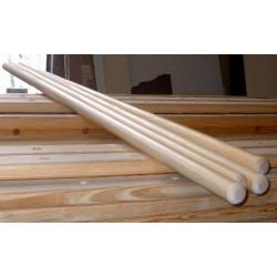 Sbarra danza in legno mt. 2 diametro 40 mm