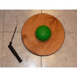 Tavoletta propiocettiva rotonda con semisfera gonfiabile