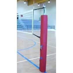 Protezioni pallavolo impianto monotubo a norme F.I.V.B.