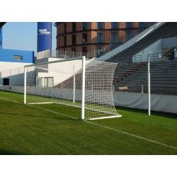 Porte da calcio regolamentari a palo distanziato